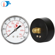 "3.5"" Custom Range General Pressure Gauge with Acrylic Lens"