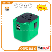 JY-303 2015 Executive switch universal travel adaptor plug connector wholesale travel kit