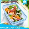 New colorful kitchen preservation collapsible silicone food container