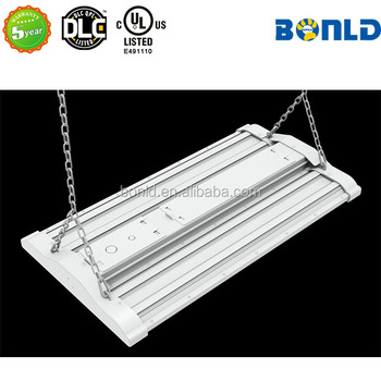 UL DLC Approved Nature White 100W Linear Led High Bay Light Warehouse led industrial Lights,led linear high bay light