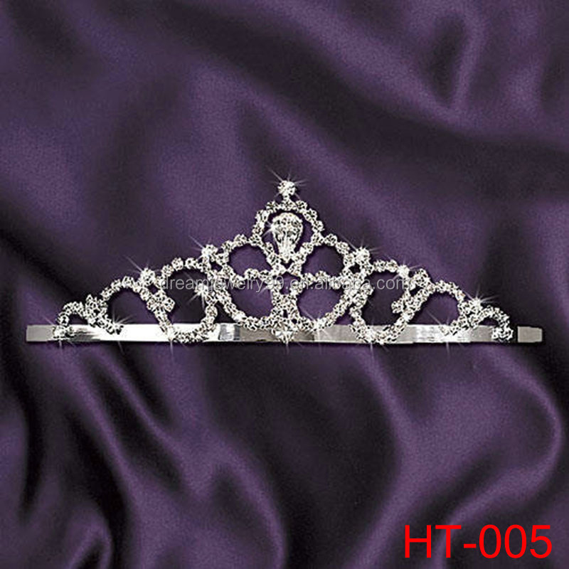 2016 hot selling zamrud ulang tahun tiaras tiara wedding pageant crowns