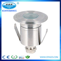 china manufacturer underwater lamp red green blue AC12v 1w led pool light