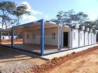 2016Easy installing & assembling Modular Container House for office, factory, workshop, dormitory, home etc.