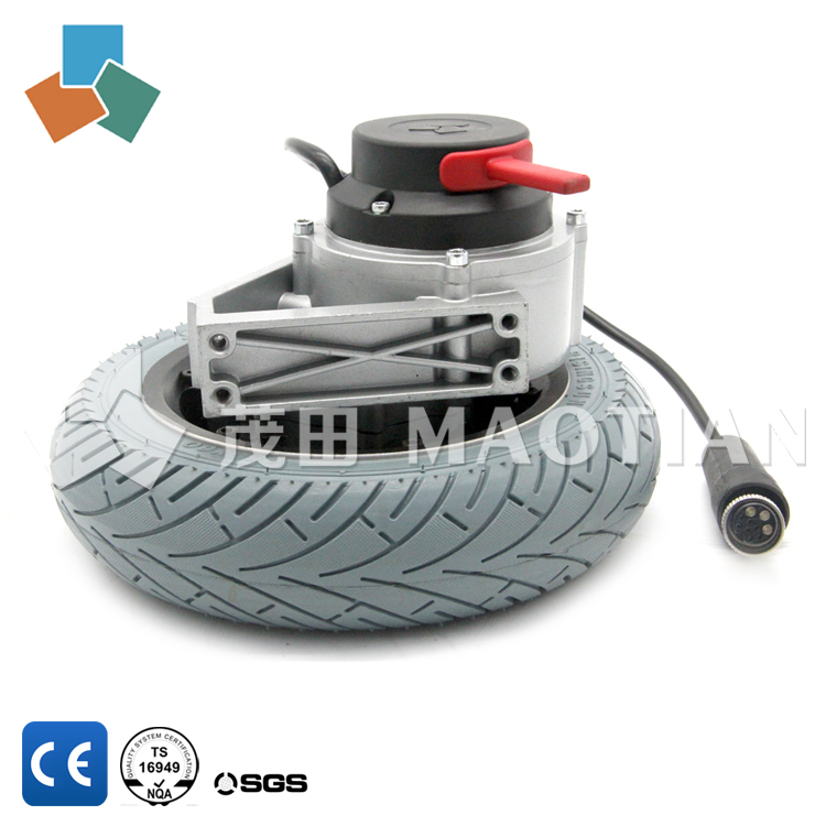 CE certified high torque MT50 10 inch dc motor /automated guided vehicle agv / high torque low rpm dc brushless gear motor