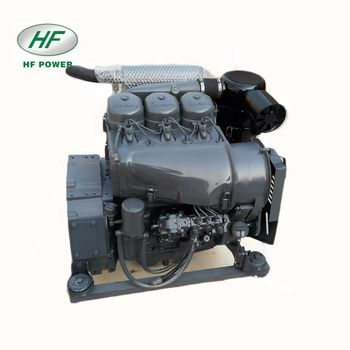 Deutz f3l912 3 cylinder air cooled 4 stroke air cooled diesel motor