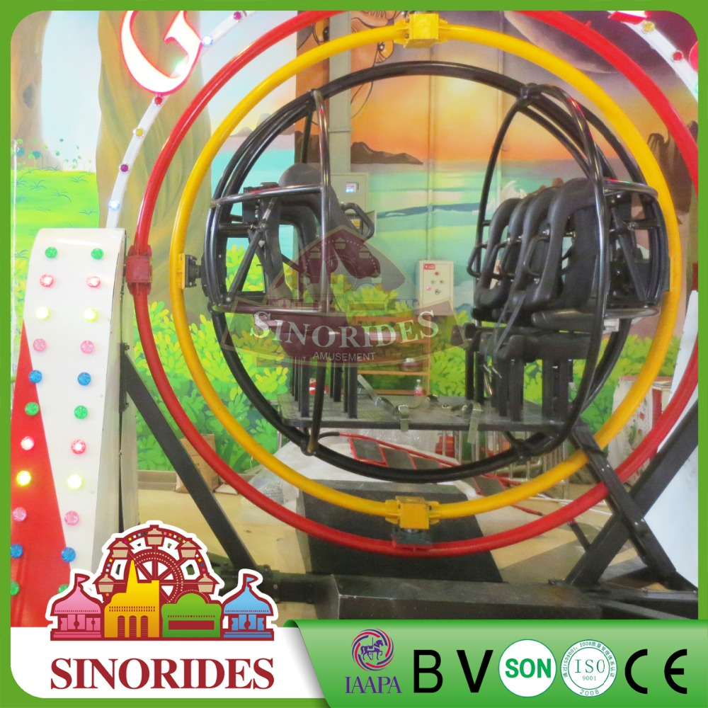 Amusement orbitronics ride adult gyro for sale