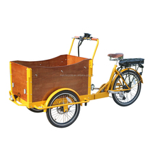 Ice Cream Coffee Vending Cart Electric Cargo Tricycle