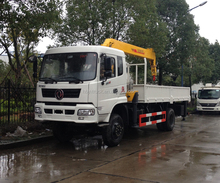 Dongfeng 4X4 off-road crane truck