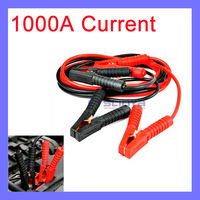 1000A 4M Long Red Black Best Quality Cooper Car Battery Car Booster Cables