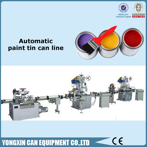 Chemical Container Manufacturing Equipments Automatic paint can machine manufacturer