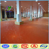 synthetic pvc badminton rubber flooring multi-purpose sports court flooring