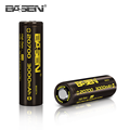 2017 new Basen 20700 3000mah 3.6v cylinder li-ion battery 20700 rechargeable lithium cell