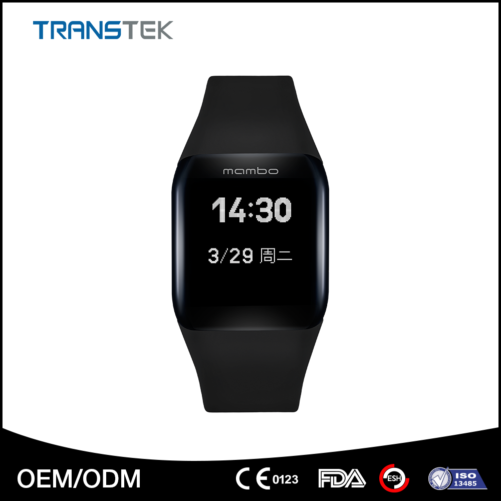Top Quality Bluetooth Smart Wristband Pedometer Smart Watch with logo