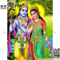 3D Gift Plastic Picture of Hindu God