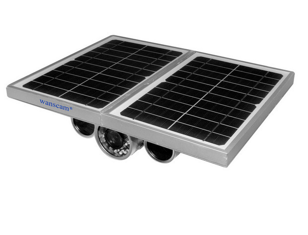 Energy Saving 1MP HD Outdoor H.264 8mm Lens Solar Power Security Camera Wireless WANSCAM HW0029