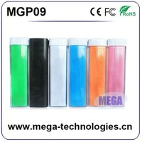 2014 new product mobile power bank with strong light LED torch