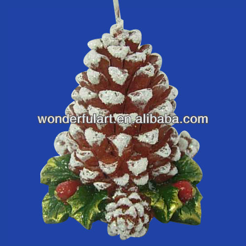 unique pine cone candle
