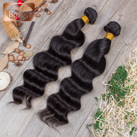 All express Brazilian hair natural color super wave 7A grade virgin Brazilain remy hair hair extensions