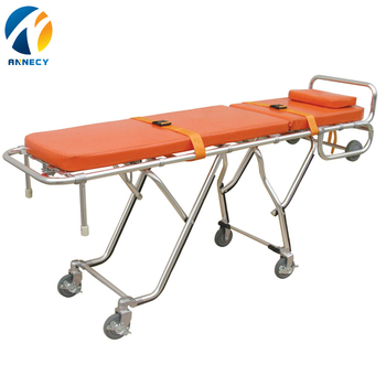 AC-AS007 china supplier High quality emergency equipment folding strong ambulance stretcher medical for sale