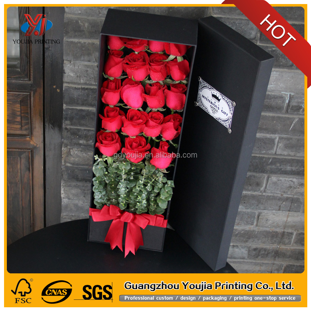 wholesale cardboard flower bouquet packaging boxes manufacturer