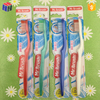 China factory supply orthodontic plastic toothbrush with tongue cleaner