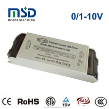 12W 0-10V 1-10V PWM resistor dimmable led driver IP20 with terminals, flicker free 5 years warranty