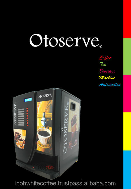 Otoserve Bean to Cup Coffee Dispensing Machine Concept and Formulation