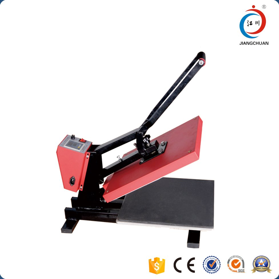 40x60 Small cheap used t shirt manual heat press printing machine for sale