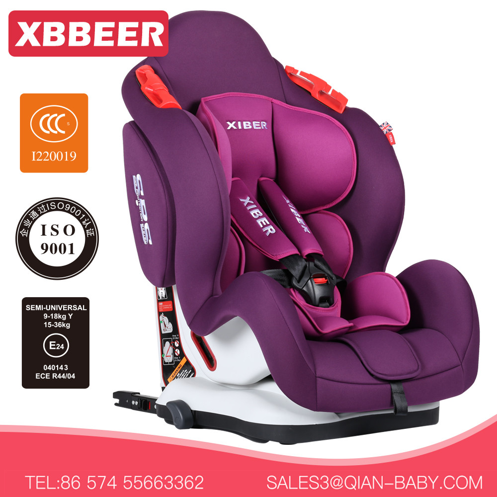 Factory direct sale baby car bucket seats ISOFIX for 9-36kg