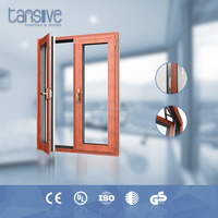 Australia Standard triple temper glass 3 hour fire rated door swing door