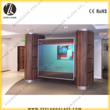 Projection screen smart pdlc film, Privacy meeting room smart film light switchable