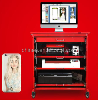 Digital vinyl printer and cutter for making mobile/laptop sticker for small business
