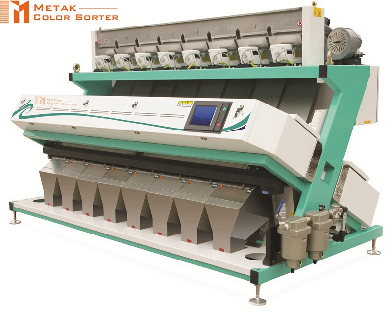 High output rice color sorter machine , color sorter spare parts ejectors,grain grading machine
