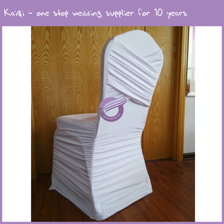 YT00113 Cheap wedding decoration folding spandex lycra chair covers