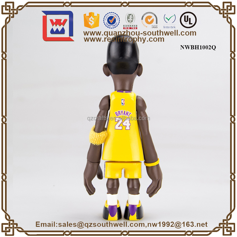 3D Bobble Head Plastic Polyresin Figure Art Sculpture