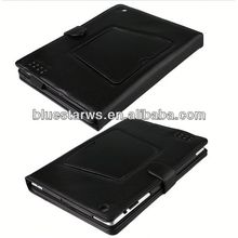 black pu leather bluetooth keyboard cover case for ipad 2 3 4