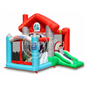 Happy hop 9315--inflatable combo house bouncer slide and ball pit