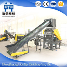 Waste Plastic Recycling Machine , PE Film Washing Line