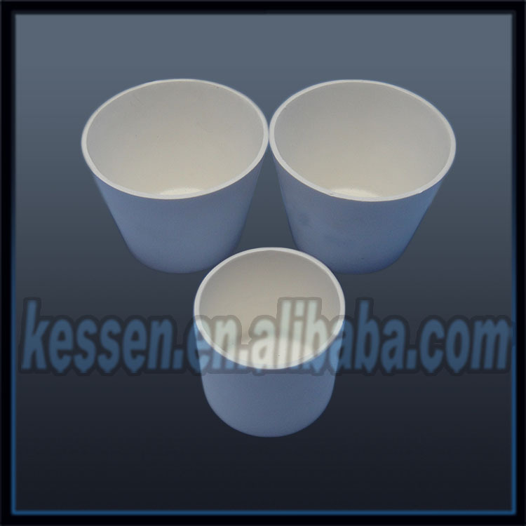 Yttria stabilized Zirconia Ceramic Crucible for melting platinum