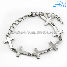 B00-1044 MOQ 10DZ Free Shipping by Express multi cross charm bracelet fashion classic jewelry
