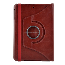 360 files rotatable Leather case for ipad mini,wholesalel price for ipad mini case