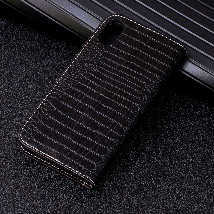 for apple case iphone case crocodile pattern genuine leather professional custom cell phone case