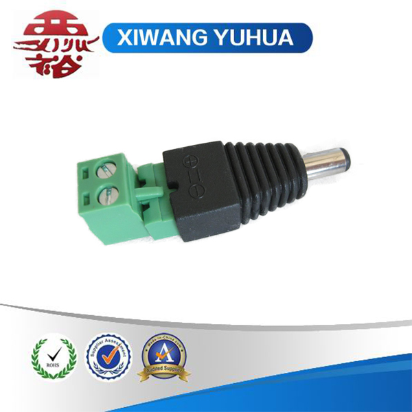 12v DC power male plug connector