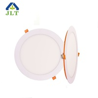 Zhongshan factory bis 12w ultra thin slim round led light panel price