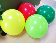 Sample free natural latex wedding decoration round balloons