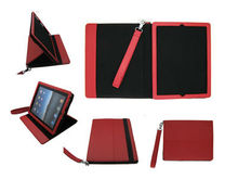 Stand PU leather case for ipad ipad2 ipad3 ipad4 high quality