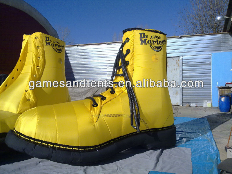 giant inflatable shoes balloon China manufacturer F7045