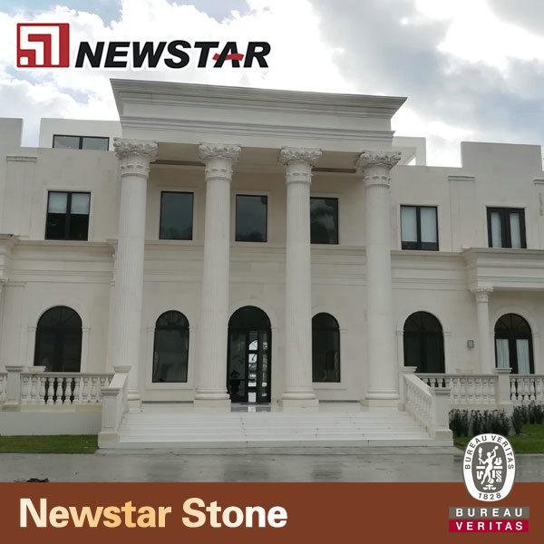 Newstar Marble Stone Gate Pillar Design Entrance Designs