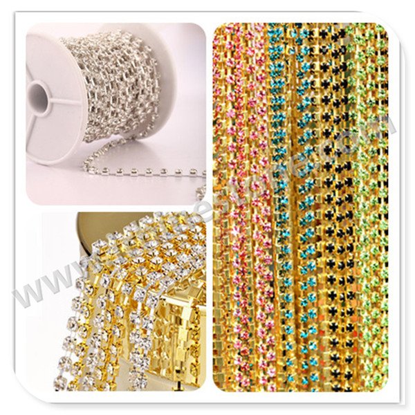 Factory Price Good Feedback String Of Rhinestone From China Manufacturer