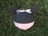 Children's DIY props Mickey Mouse paper lantern chinese new year decorations handmade